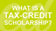 Here's an EdChoice video that explains educational scholarship tax credits.