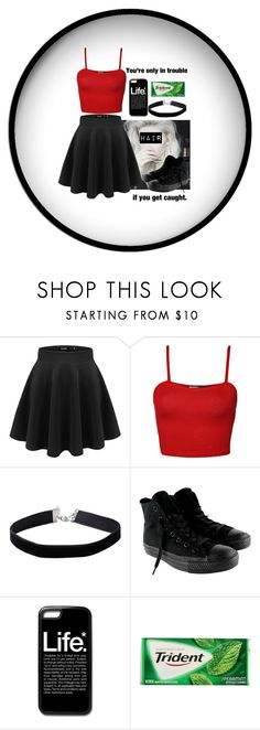 """•I'll Do What I Want 'Cause This Is My Life•"" by layla1288 ❤ liked on Polyvore featuring WearAll, Miss Selfridge and Converse"
