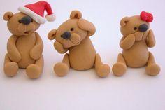 teddy bear sugar paste - Google Search