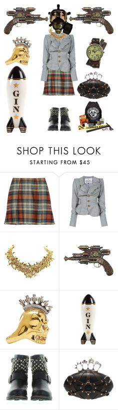 """Ready for Anything"" by creation-gallery on Polyvore featuring Vivienne Westwood Anglomania, Vivienne Westwood, Tom Binns, H.I.P., Alexander McQueen, Jonathan Adler and Bling Jewelry"
