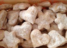 Vianočné pečenie - šľahačkové pečivo Christmas Baking, Christmas Recipes, Christmas Cookies, Biscotti, Nom Nom, Stuffed Mushrooms, Good Food, Vegetables, Slovak Language