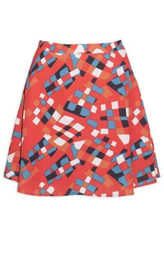 Carla Abstract Skirt – Little Party Dress