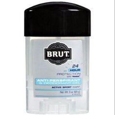 Brut Anti-Perspirant Deodorant Gel Active Sport Scent 3 oz, Multicolor