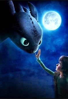 Hiccup & Toothless...❤ (How to Train Your Dragon)