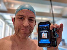 Great Swim Session Listen To Satellite Radio