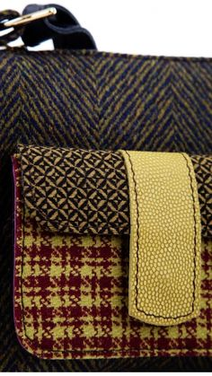 Accessories : Bag Patchwork 2 Pockets Mondego TMcollection Fall-Winter 2015 [Entre Serras] - Handmade
