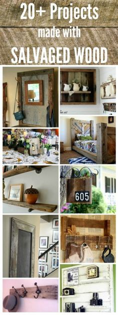 Salvaged Wood Projects