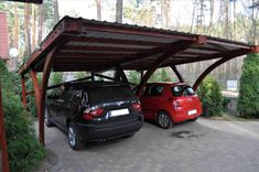 """Képtalálat a következőre: """"partially enclosed carport, wood, attached"""""""