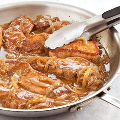 Smothered Boneless Pork Ribs - Cook's Country