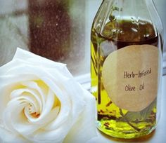 herb infused olive oil