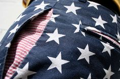 Most Patriotic Pants Ever: BetaBrand USA Pants.