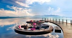 W Retreat and Residences Koh Samui is the first W Retreat in Southeast Asia. An all-villa beachfront resort, it is located on a 26-acre site on Maenam Beach, at the north shore of the island of Koh Samui