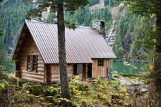 alaska cabins | West Turner Lake Cabin is a public use U.S. Forest Service cabin on ...