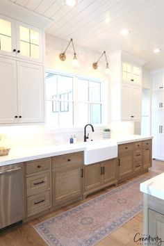 Modern Farmhouse Kitchen. Millhaven Homes #KitchenRemodel
