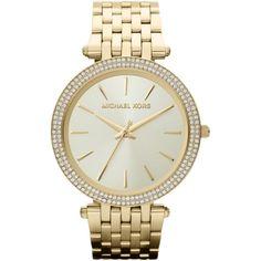 4bad2dd9af Michael Kors MK3191 Darci Gold Tone Dial Pave Ladies Wrist Watch