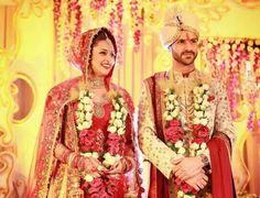 Divyanka tripathi and vivek dahiya wedding photo