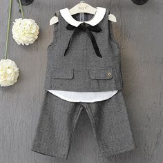 Find More Clothing Sets Information about 2PCS/0 7Years/Spring Autumn Korean Kids Clothes Sleeveless T shirt+Pants Baby Girls Outfits Clothing Sets Children Suits BC1236,High Quality suit of armor for sale,China suit carrier Suppliers, Cheap suit from babzapleume Boutique store on Aliexpress.com