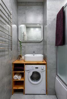Small Shower Room, Small Toilet Room, Small Bathroom Layout, Small Showers, Tiny House Bathroom, Laundry In Bathroom, Washbasin Design, Bathroom Plans, Bathroom Design Luxury