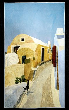 THE SENTRY OF SANTORINI ISLAND by David Taylor of Steamboat Springs, Colorado.