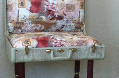 valigia riciclo, riuso, suitcase recycle