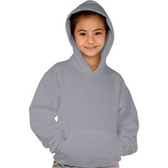 Girl's Hanes ComfortBlend Light Steel  Hoodie is comfy & stylish. Will be great for back-to-school!