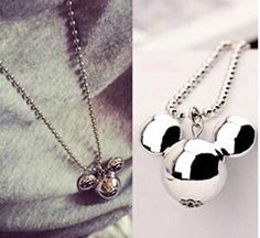 Mickey Mouse Pendant and Necklace #silver #mickey #mickeymouse #jewellery #necklace #disney http://m.ebay.co.uk/itm/Free-Gift-Bag-Silver-Tone-Mickey-Mouse-Disney-Pendent-Necklace-Ladies-Jewellery-/282010512542?nav=SELLING_ACTIVE