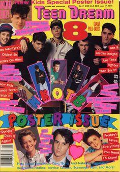 Teen Dream Teen Magazine Issue #21 (undated NKOTB, | eBay