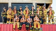 Mmmm! Lots of firemen! Happy #FiremenFriday everyone!!