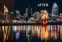 Nights and Lights Lightroom Preset. Actions. $5.00