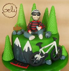 Mountain Bike Cake                                                                                                                                                                                 Mehr