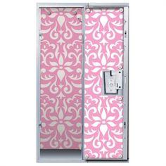 Locker Lookz Damask Magnetic Wallpaper | from Von Maur #backtoschool
