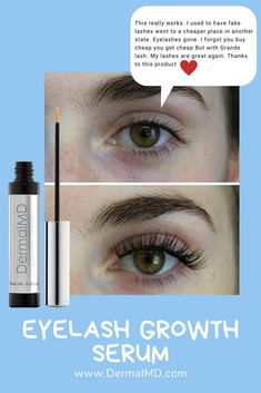 Dermalmd eyelash growth serum reviews Natural Eyelashes, Fake Lashes, How To Grow Eyelashes, Eyelash Growth Serum, Rosacea, Chemist, Fragrance, Shop, Beauty