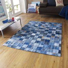 Aus Jeans wird ein Teppich - Anleitungen