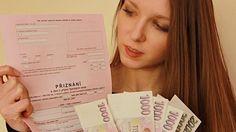Modelový příklad: Vyplňte daňové přiznání řádek po řádku