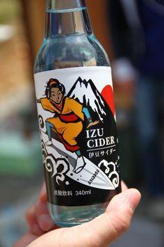 Japanese surf Soda Bottle!