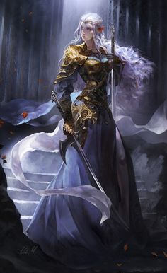 Fantasy Art Women, Dark Fantasy Art, Fantasy Girl, Fantasy Artwork, Fantasy Princess, Dnd Characters, Fantasy Characters, Female Characters, Fantasy Character Design