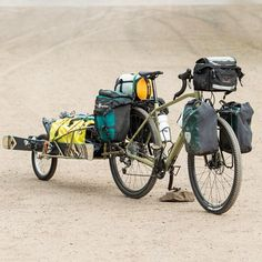 The only way to travel #trekbikes #trek #trek920 #touring by rbcycles