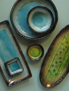 CERAMICA BLUE - CERAMICS AND TABLEWARE SHOP - JAPANESE CRACKLE GLAZE - STONEWARE