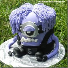 Evil Minion Cake