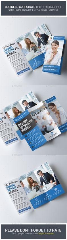 Creative Business BiFold Creative Brochure Template And Business - Business tri fold brochure templates