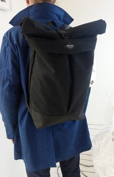 Levo Braasi Industry Cotton Canvas Rolltop 28L