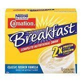 Nestle Carnation Instant Breakfast Classic French Vanilla 10 pk Nutritional Energy Drink 12.6 oz - http://sleepychef.com/nestle-carnation-instant-breakfast-classic-french-vanilla-10-pk-nutritional-energy-drink-12-6-oz/