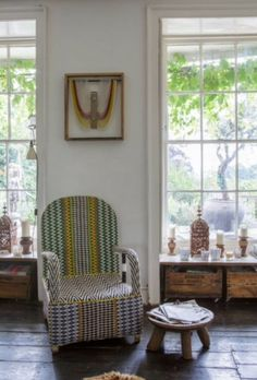 """This sweet chair is from our feature """"Bohemian Chic"""""""