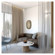 Simple, clear lines define each particular element inside the room. Open Bathroom, Interior Architecture, Interior Design, Jacuzzi, Relax, Living Room, Luxury, Simple, Bed