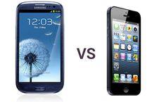 iPhone5 vs galaxy s3