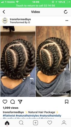 Need A Cute Protective Style? – 18 Flat Twist Updo Styles You Should Try [Gallery] 2 strand flat twist updo Flat Twist Hairstyles, Virtual Hairstyles, Braided Hairstyles, Trending Hairstyles, Short Hairstyles, Girls Natural Hairstyles, Fashion Hairstyles, Hairstyles 2016, Natural Hair Twists