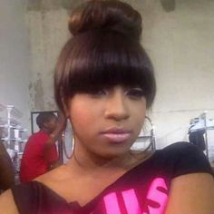 Admirable Updo Buns And Bangs On Pinterest Short Hairstyles Gunalazisus