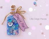 Alice in Wonderland inspired 'Drink Me' Bottle Hair Clip