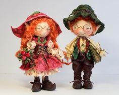 Очаровательные позитивные куколки