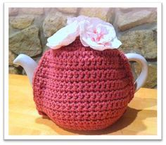 Made to Fit Tea Cozy Pattern   The Wrap Station.  Any size teapot, any weight yarn.